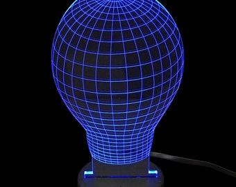 Light Bulb- LED Night Light Lamp 3D
