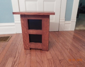 Arts and Crafts Tabouret