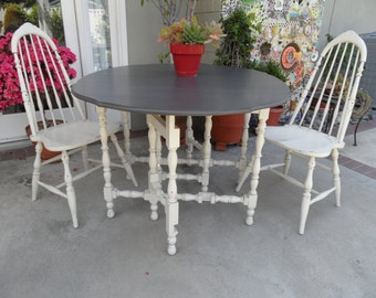 Drop Leaf Table Etsy