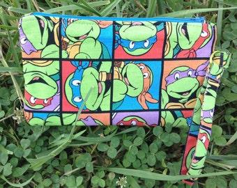 Ninja Turtles Wristlet