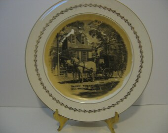 Vintage 1940's Steubenville Fotoware - Raleich Tavern Williamsburg VA.