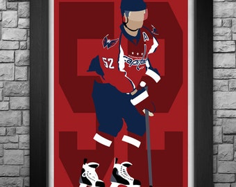 MIKE GREEN minimalism style limited edition art print. Choose from 3 sizes!