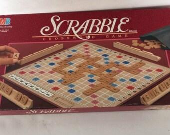 Vintage 1989 scrabble game