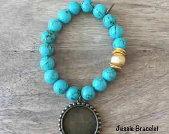 Jessie Bracelet Teal
