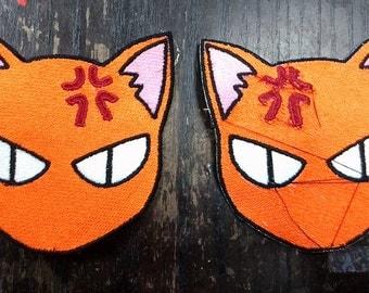 Fruits Basket Kyo Tohru Yuki inspired Sew on Patches