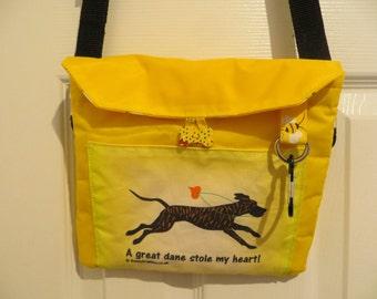 Breed Print Dog Walking Bag