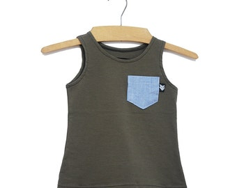 Camisole Mini-pop Olive