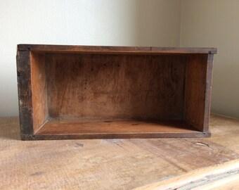 Vintage wooden drawer, great for shelving/ storage
