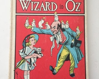 Dorothy and the Wizard in Oz - white hardcover