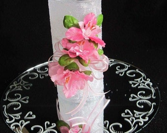 Diamond Dust Vase, Glitter Wedding Centerpiece, Glitter Vase, Wedding Decor, Bridal Shower Decor, Engagement Party, Mother's Day Gift