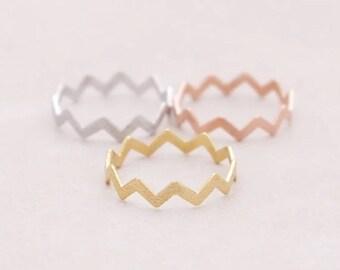 Zigzag ring