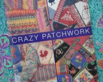 Patchwork book,patchwork tutorial book,crazy patchwork book,creative patchwork book,learn patchwork,patchwork ideas,patchwork,craft book,