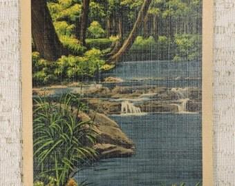 Vintage Post Card of Maryville College, Maryville, TN