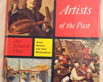 Famous Artists of the Past - HB/DJ - Alice Chase - 177 illustrations