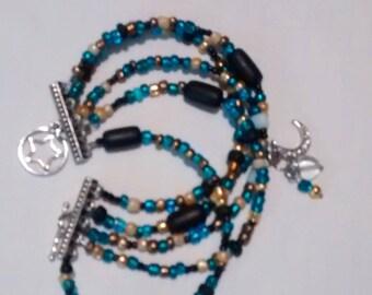 moon gypsy junk bracelet