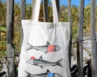 Off-white bag tote bag Sardines & cotton Co.