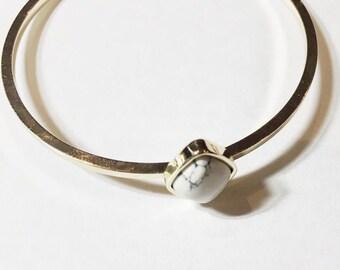 Marbelle handmade marble bangle/ marble bracelet