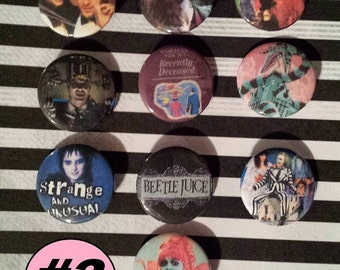 30 Beetlejuice Buttons