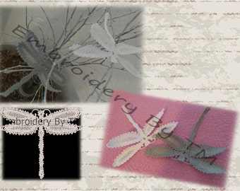 Dragonfly lace-original  lace design