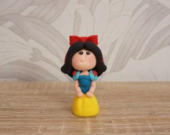 Snow White Cake Topper, Disney Wedding Cake Topper, Disney Wedding, Cute Wedding Cake Topper, Snow White Wedding Cake Topper