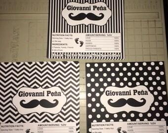 Candy Bar Wrapper, Moustache