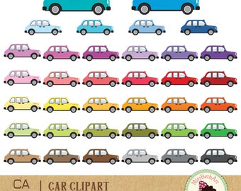 Cars Clipart - Instant Download