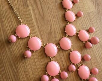 Lollipop - Pink Statement Necklace