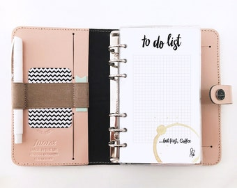 to do list / Filofax Personal / Inserts / Planner / Template / Notepad / Filofax Printable / INSTANT DOWNLOAD