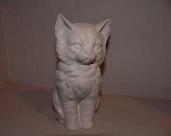 Small kitten figurine