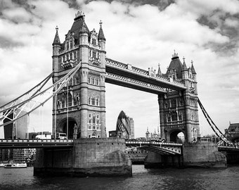 The Tower Bridge, London, Thames