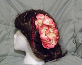 Pink Hydrangea Comb