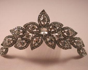 Star Crystal Tiara Comb