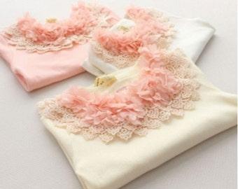 Gorgeous CREAM Detailed collared shirt