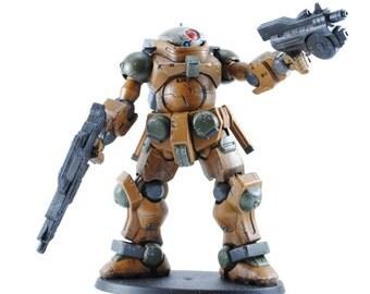 Gundam GRIMOIRE custom painted Bandi model/ figurine