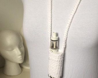 Kangertech White Crystal Studded KBox Mini Lanyard (Ready to Ship)