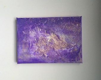 """Textured 5""""x7"""" canvas"""