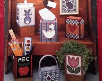 Plastic Canvas -Cut Aways - Vintage Pattern Booklet
