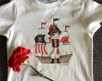 T-shirt baby pirate