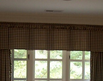 Custom window treatment, valance, toppers, box pleated valance, window valance, toppers, window decor, home decor