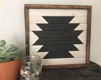 Geometric Tribal Wall Hanging