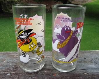 Vintage Mcdonald Adventure Series Glasses