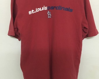 Vintage 90's Major League Baseball St Louis Cardinals Design Shirt Size S #B17