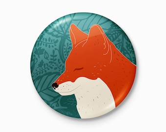 The Fox- Pocket Mirror