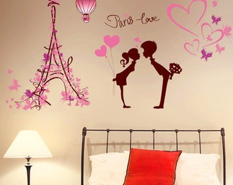 Paris Love Wall Decoration