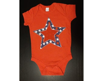 Americana Star Onesie/Tank/Tshirt