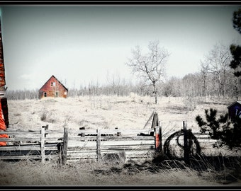 Old Country Barn and house