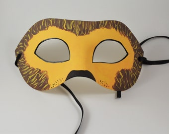 Lion Masquerade Mask