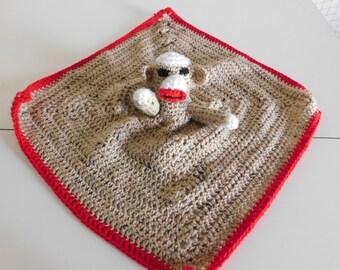Sock Monkey Blankie