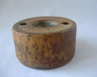 Mobach: Vintage Dutch ceramic candle holder