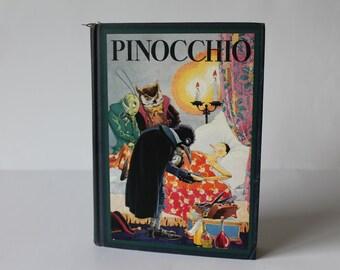 Original 1932 Pinocchio Illustrated By Maud And Miska Petersham
